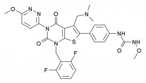 Relugolix Relumina Prostatakrebs TAK-385-Struktur
