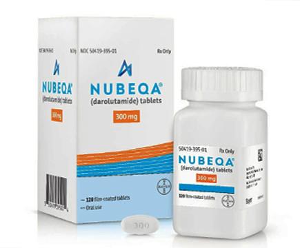Tabletten Darolutamide, Nubeqa, BAY 1841788; ODM-20,