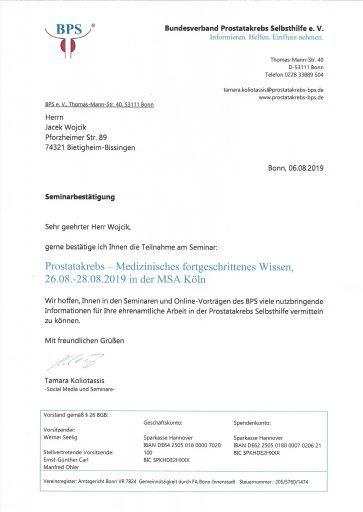 Seminar Köln Diplom