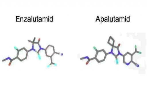 Unterschied Enzalutamid und Apalutamid ist sehr gering