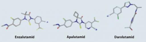 Unterschied zwischen Darolutamid Nubeqa, Xtandi und Apalutamid